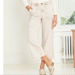Universal Thread High-Rise Wide-Leg Cropped Jeans